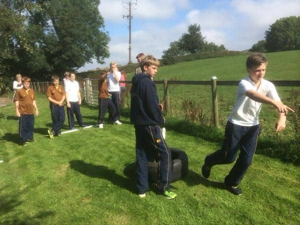 Leadership Day 4 Para Sedbergh Junior School 5