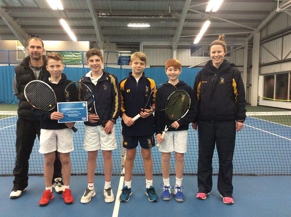 Prep School Aegon Tennis Team Success Sedbergh Junior School 2