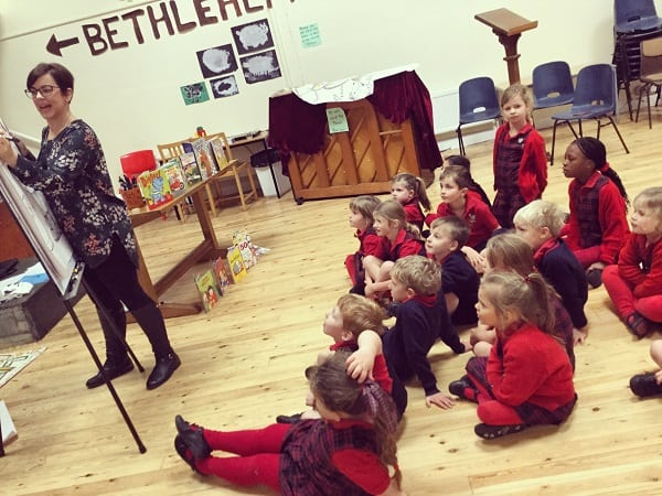 Liz Million Author & Illustrator Visits Sedbergh Prep Sedbergh Juniors 2