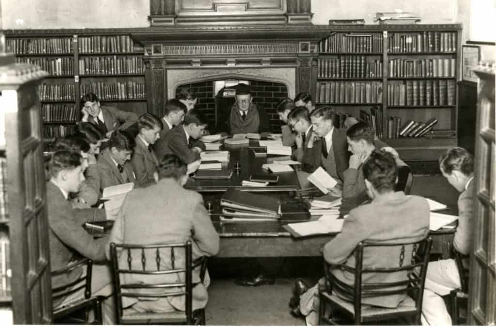 Class In Library 1934
