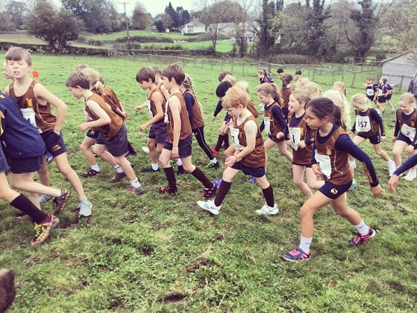 461 Runners Compete Invitational Cross Country Sedbergh Junior School 10