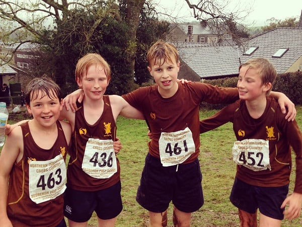 461 Runners Compete Invitational Cross Country Sedbergh Junior School 11