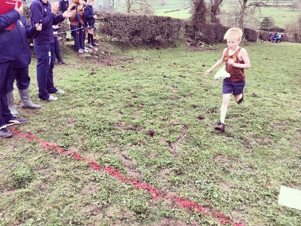 461 Runners Compete Invitational Cross Country Sedbergh Junior School 2