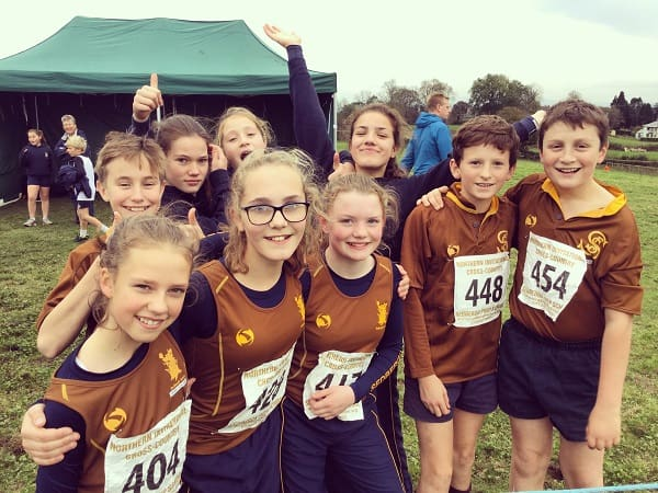 461 Runners Compete Invitational Cross Country Sedbergh Junior School 4