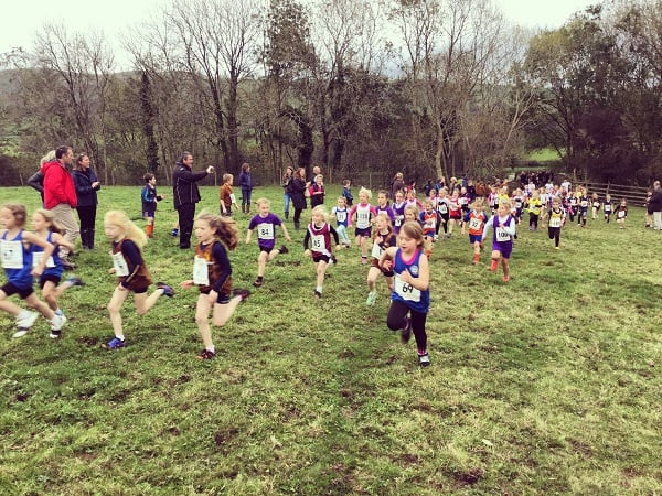 461 Runners Compete Invitational Cross Country Sedbergh Junior School 5
