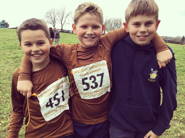 461 Runners Compete Invitational Cross Country Sedbergh Junior School 7