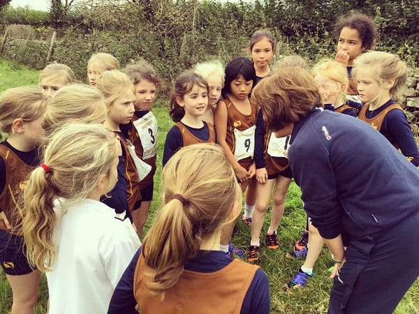 461 Runners Compete Invitational Cross Country Sedbergh Junior School 8