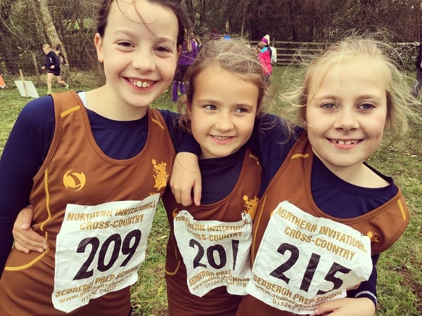 461 Runners Compete Invitational Cross Country Sedbergh Junior School 9