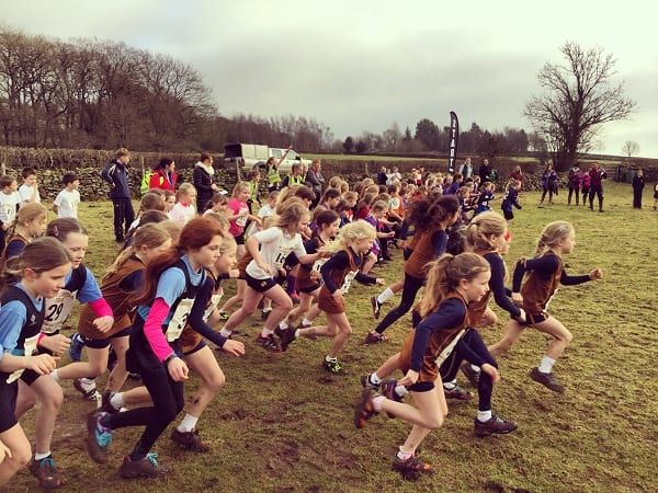 500 At Cross Country Trials At Sedbergh Prep Sedbergh Junior School 9