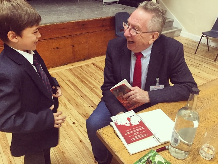 Author Visit By Nigel Hinton Sedbergh Junior School 2