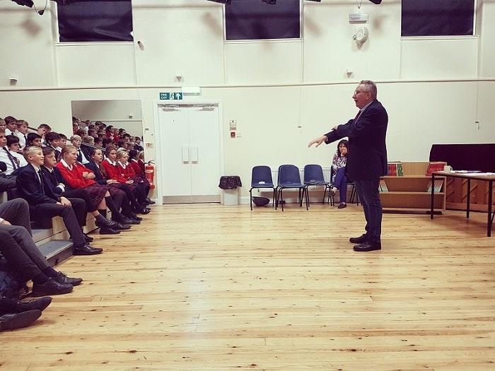 Author Visit By Nigel Hinton Sedbergh Junior School 3
