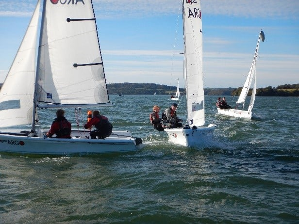 Sedbergh Senior School - CCF National Regatta HMS Raleigh Oct 2016