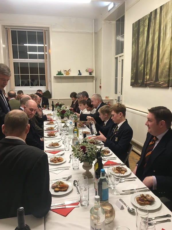 Chairman Of World Rugby Bill Beaumont Cbe Sedbergh Junior School Dinner
