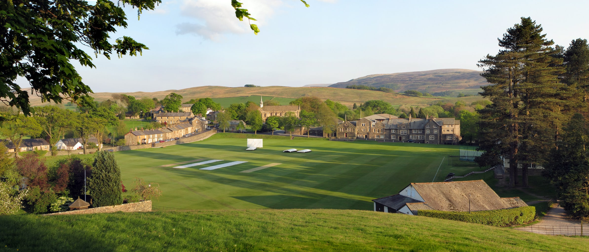 Sedbergh Senior School - Foundation - Cricket Pitch