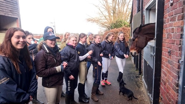 Equestrian Team Training Day Sedbergh Junior School 3