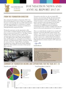 Sedbergh Senior School - Foundation Annual Report