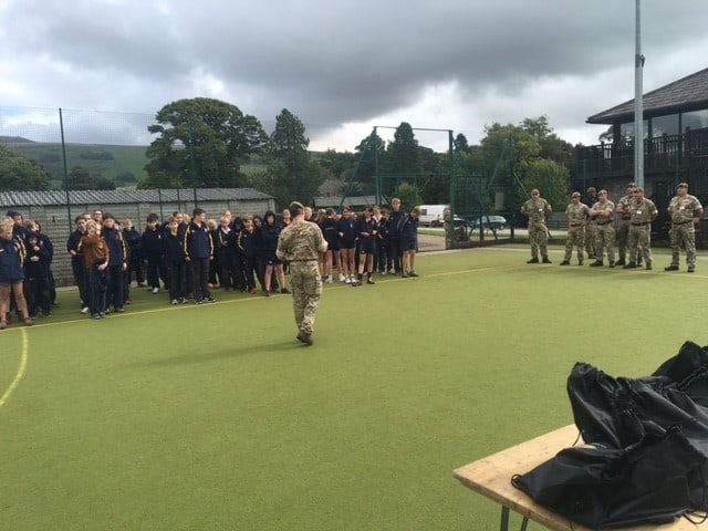 Leadership Day With Captain Lydiate Sedbergh Junior School 10