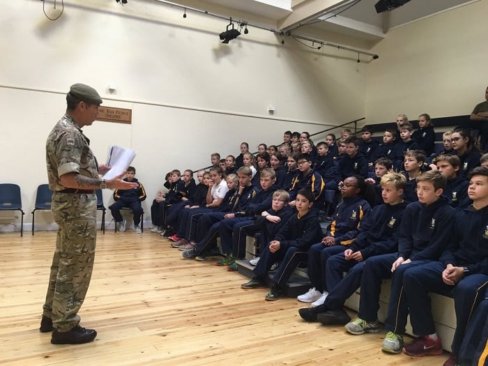 Leadership Day With Captain Lydiate Sedbergh Junior School 2