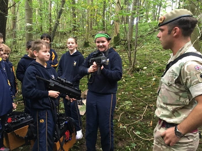 Leadership Day With Captain Lydiate Sedbergh Junior School 4