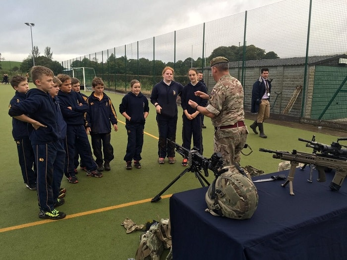 Leadership Day With Captain Lydiate Sedbergh Junior School 8