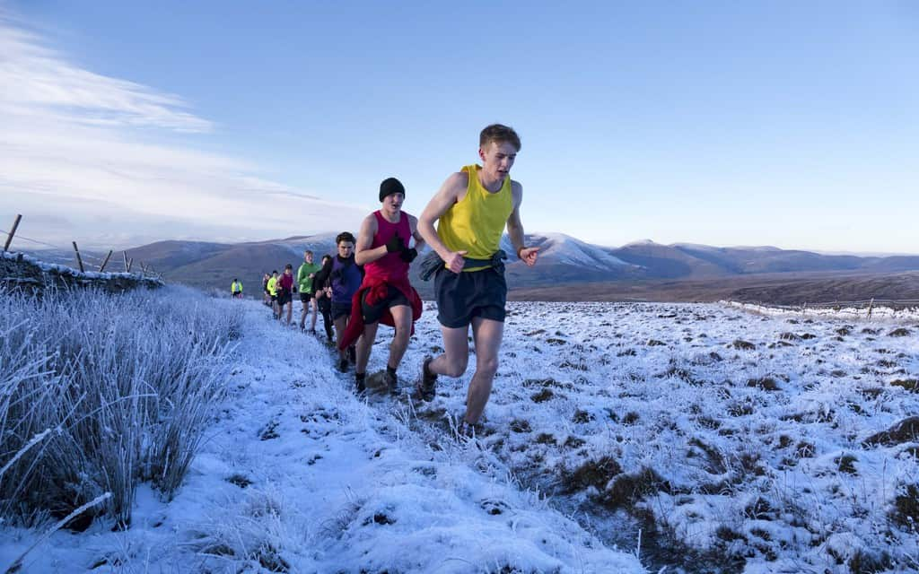 Sedbergh Senior School - Boys Sport Fell Running