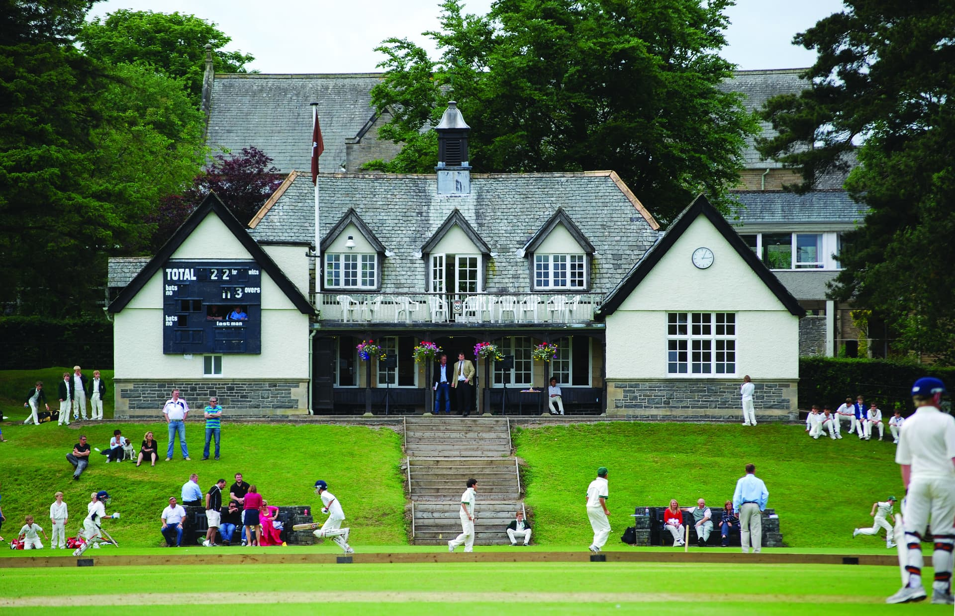 Sedbergh Senior School - Foundation - SISS Cricket Pavilion