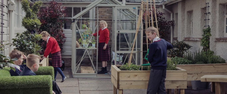 Sedbergh Prep School - Gardening