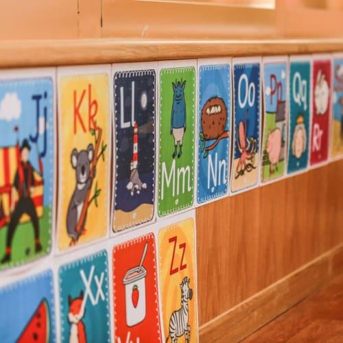 Rong Qiao Sedbergh School - Alphabet