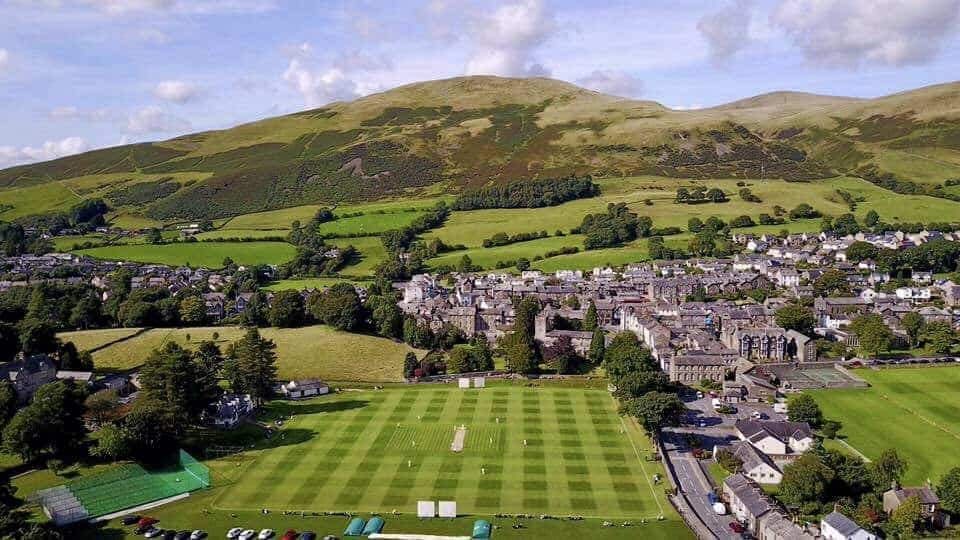 Cricket Ground From The Air