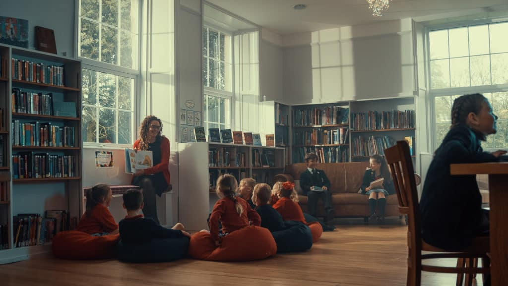 What is a Prep School? The Library at Sedbergh Prep School