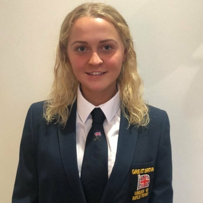 Daisy Armstrong GB U19 Rifle Team