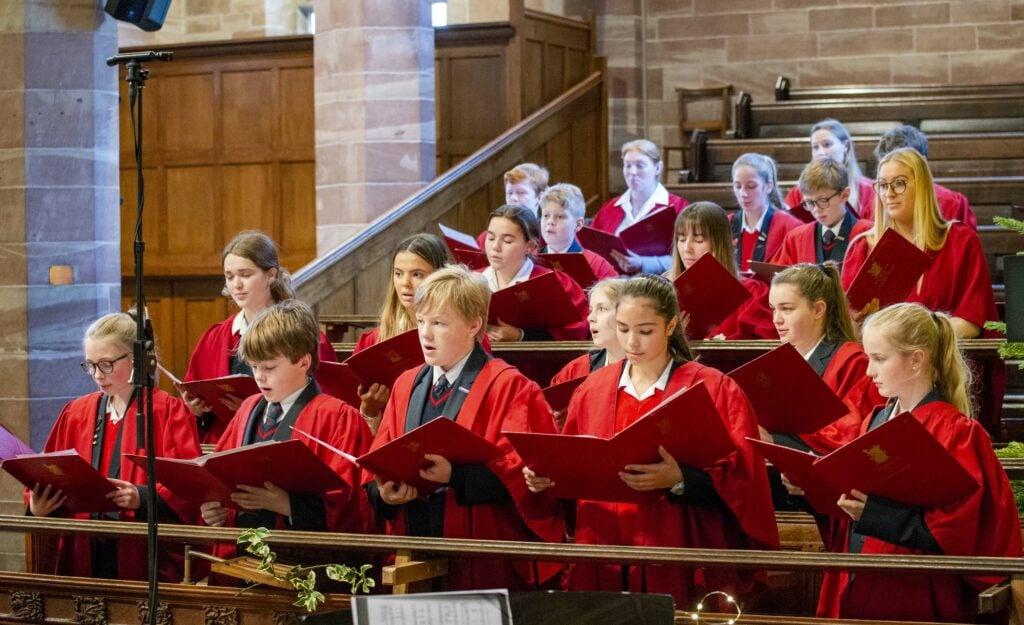 Prep choir