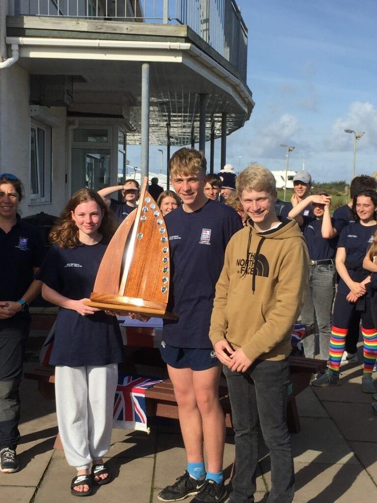 Sedbergh Sailing Win National Title 1