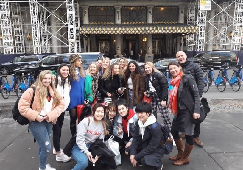 Sedbergh Senior School - Art And Graphics Pupils Explore New York