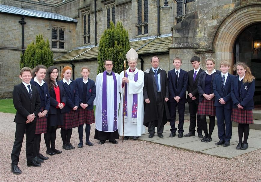 Sedbergh Senior School - Confirmation Service 2014