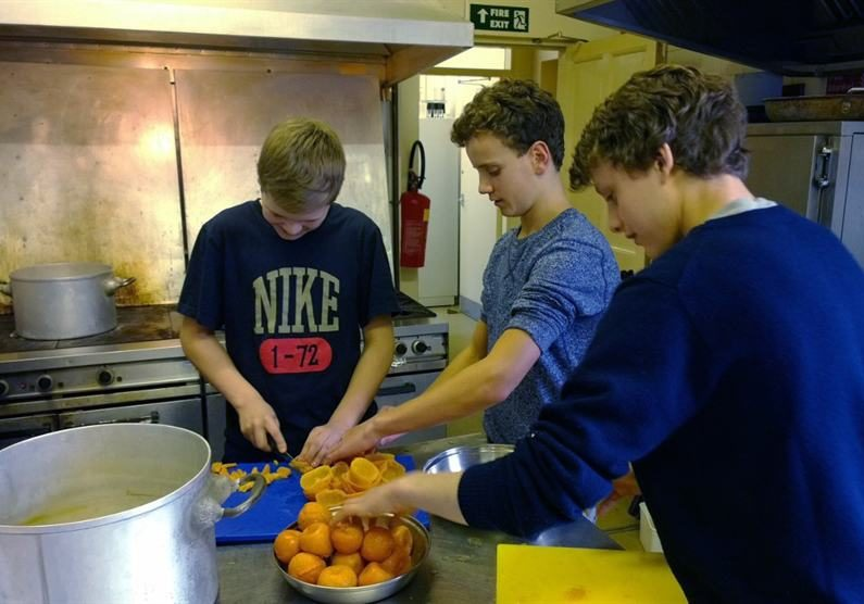 Sedbergh Senior School - Culinary Competition In Powell House