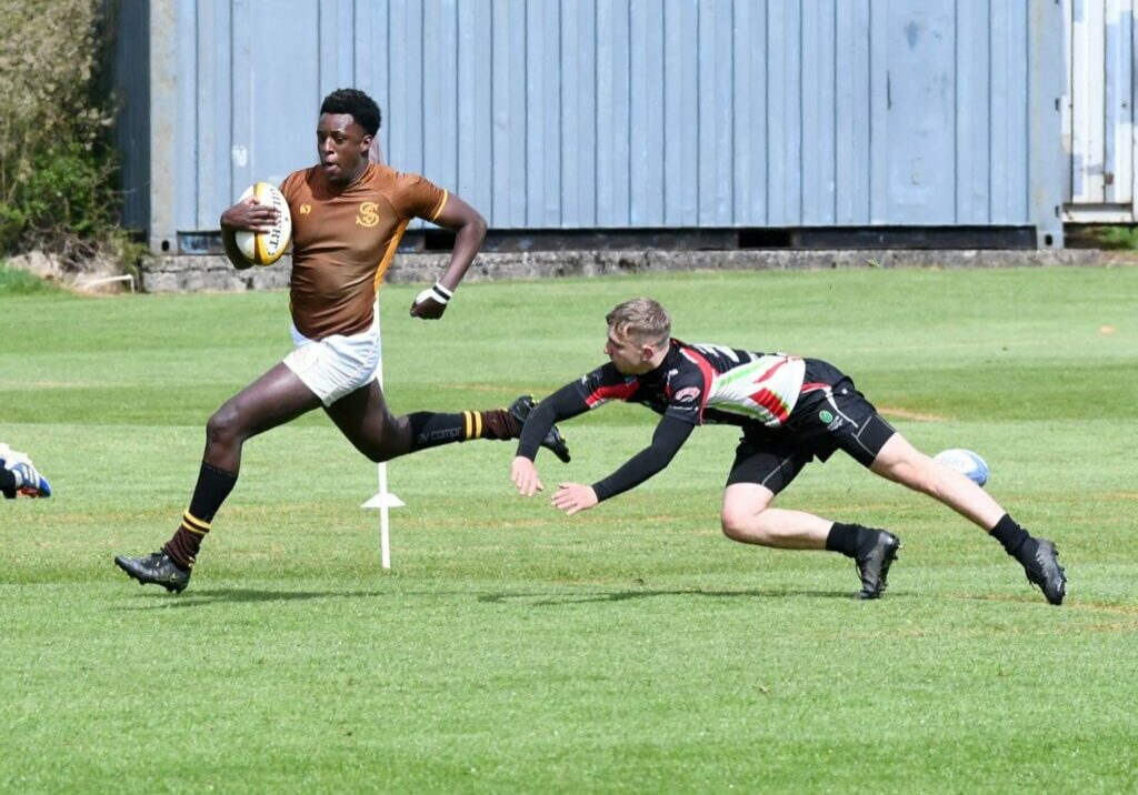 Sedbergh Rugby Player