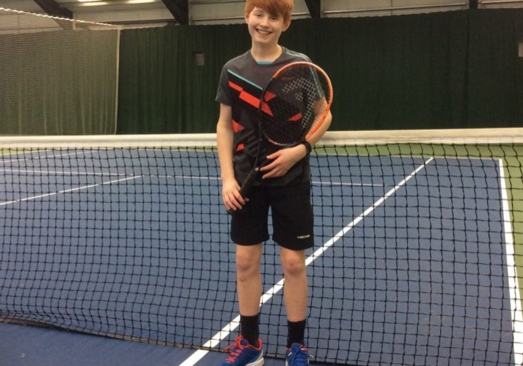 Sedbergh Prep School - Great Britain Call Up For Tennis Ace James Griffin
