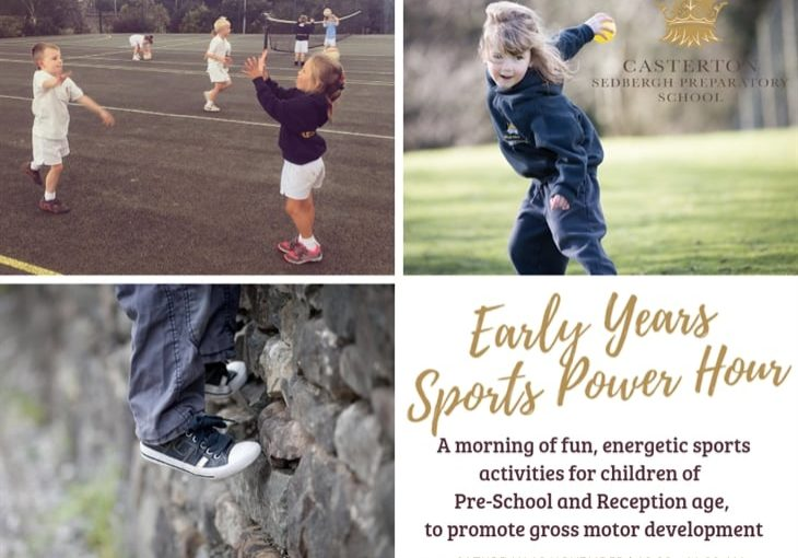 Sedbergh Prep School - Join The Early Years Sports Power Hour