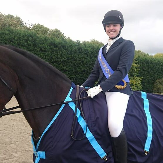 Sedbergh Senior School - National Dressage Champion Georgia Turner NSEA Championships