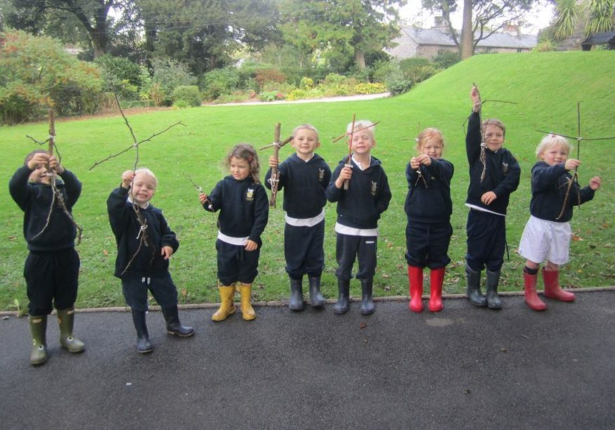 Reception Pupils Get Out And About