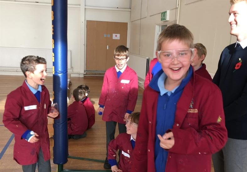 Stem Day Rockets To Success Sedbergh Junior School