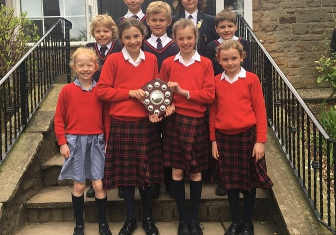 Sedbergh Prep School - Collect The Cup In Biathlon